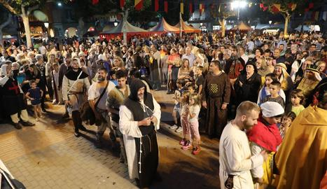 Fiesta medieval Harpia de Balaguer 2019