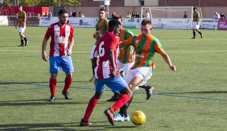 El jugador més destacat en la victòria de l'Agramunt amb el Bellcairenc va ser Sylla, autor de tres gols.