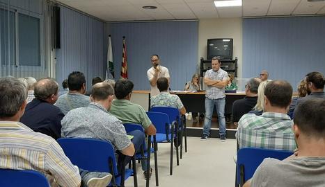 Les eleccions es van celebrar ahir a la nit a Sarroca de Lleida.