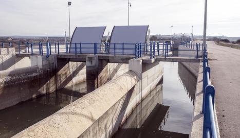 El canal Segarra-Garrigues.