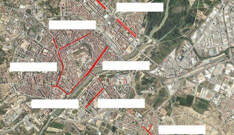 Nou carrers principals tallats al trànsit diumenge en el Dia sense Cotxes