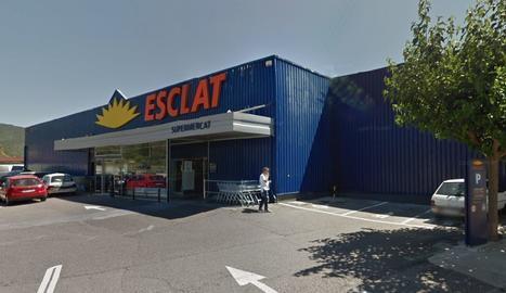 Imatge d'arxiu d'un supermercat Esclat Bonpreu.