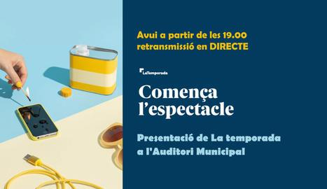 DIRECTE   Presentació de la temporada de concerts de l'Auditori Enric Granados