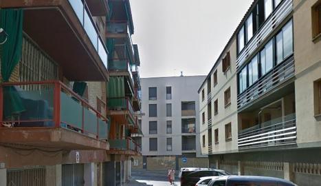 Imatge del carrer Pere de Coma