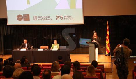 L'acte de presentació del POUSC ha tingut lloc a la Llotja de Lleida.
