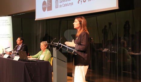 La consellera Meritxel Budó ha presentat el PUOSC a Lleida.