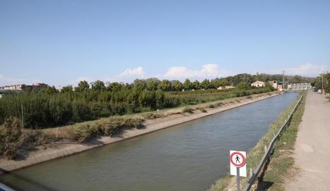 Finca adquirida pels musulmans per a la mesquita, al costat del canal de Seròs i el pont de Pardinyes.