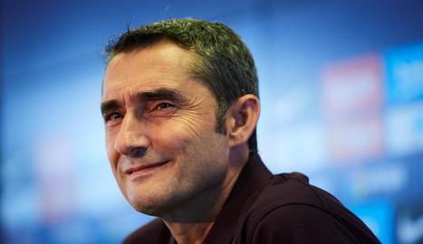 Ernesto Valverde, a la prèvia del partit a Granada.