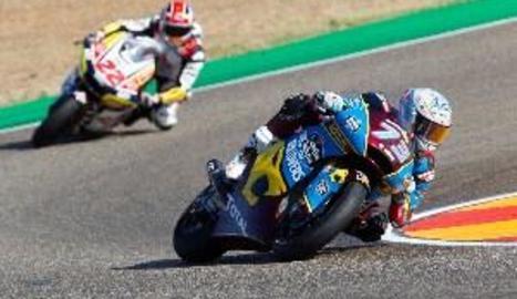 Àlex Màrquez acaba tercer a MotorLand i segueix ferm en el lideratge