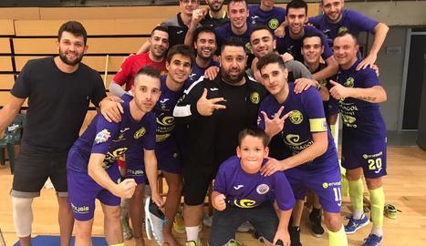 El Lamsauto Futsal Lleida venç 6-4 el Calvià a l'Onze de Setembre