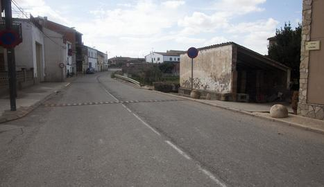 Imatge actual del carrer Lleida.