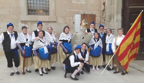 L'Àliga de Lleida, figura recuperada el 2001.