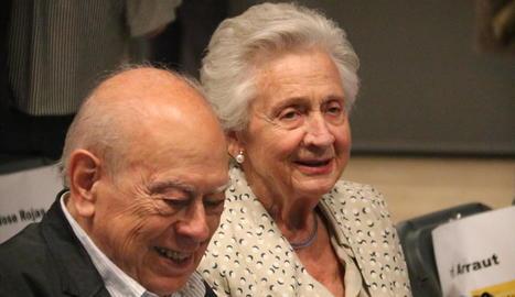 Imatge d'arxiu de Jordi Pujol i la seua dona, Marta Ferrusola.