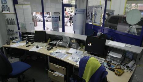 Imatge d'arxiu d'un taller de la cadena Rodi a Lleida.