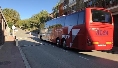 El bus interurbà ja ha posat en marxa la iniciativa.