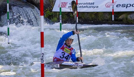 Laia Sorribes va aconseguir el bitllet per a semifinals en la seua estrena al Mundial de la Seu.