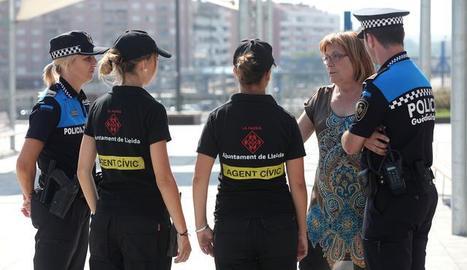 Imatge d'arxiu d'Agents Cívics a Lleida