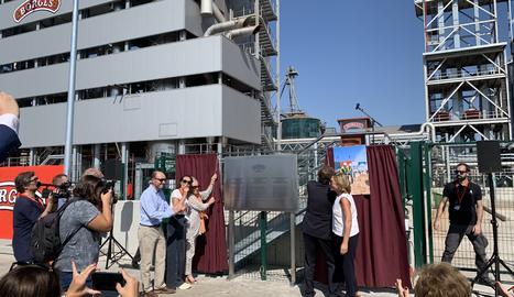Borges inaugura la nova planta extractora d'olis de llavors a Tàrrega