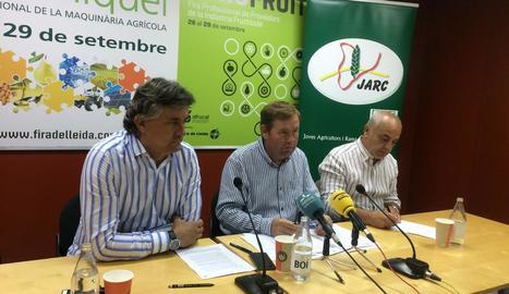 Xavier Vela, Joan Carles Massot i Joan Esteve.