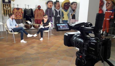 Glòria Farré entrevista el regidor de Lleida Ignasi Amor al 'DiS'.