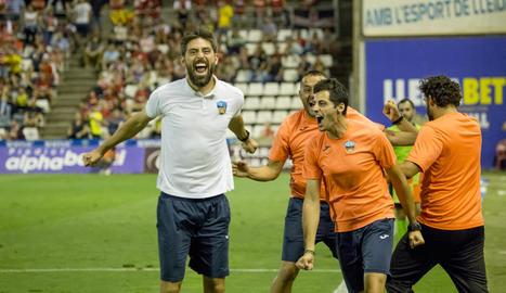 El Lleida, líder provisional després de vèncer el Nàstic (1-0)