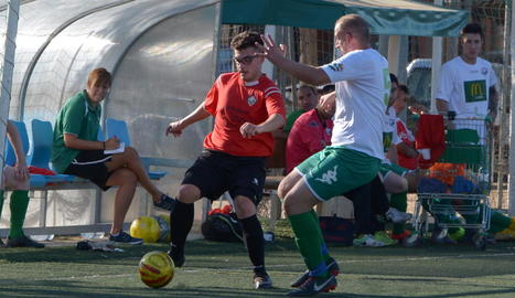 El Balàfia B va marcar el primer gol de la temporada en els primers minuts de partit.