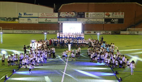 El Mollerussa presenta els 24 equips a l'afició
