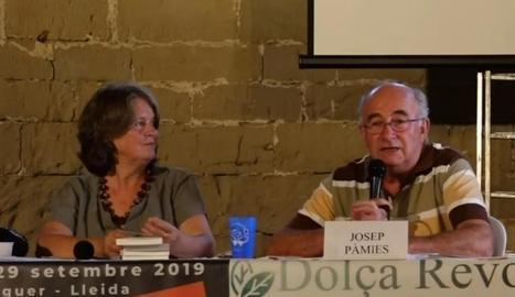 Josep Pàmies a l'última jornada del congrés de Balaguer.