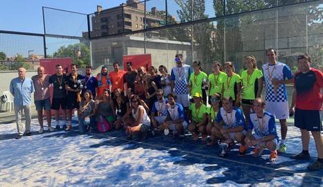 CUB Sports i Star's guanyen la Copa Catalunya de pàdel a Lleida