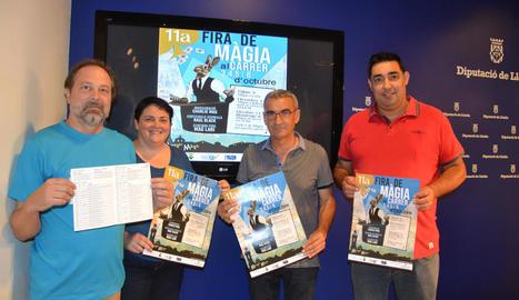 L'onzena edició de Montgai Màgic es va presentar ahir a la Diputació de Lleida.