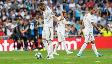 Benzema es lamenta de la poca profunditat que ahir va tenir el seu equip davant del quadre belga.