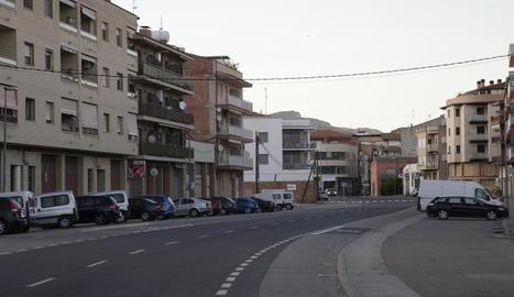 Imatge d'arxiu d'una vista d'Alfarràs.