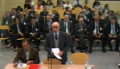 Rodrigo Rato, a les al·legacions finals del judici.