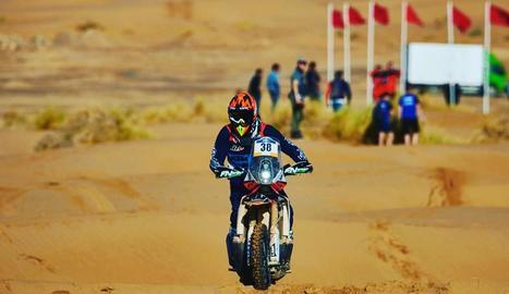 Isidre Esteve i Jaume Betriu tornen aquest mes a terres marroquines per ultimar la preparació de cara al Dakar 2020.