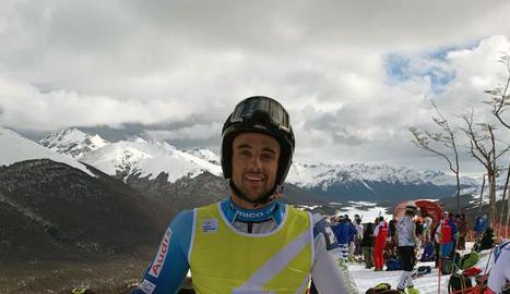 L'esquiador aranès està fent una gran pretemporada.