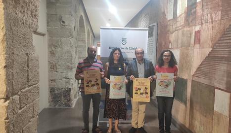 Sisena mostra de formatges artesans de Ponent al Palau d'Anglesola