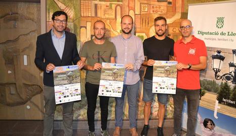 La prova, que es va presentar ahir a la Diputació, serà puntuable per al Campionat Provincial.