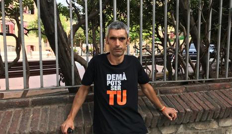 Roger Espanyol va perdre un ull l'1 d'octubre de 2017 quan defensava les urnes d'un dels col·legis del referèndum.