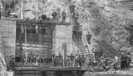 La vaga de La Canadenca va aturar la construcció de preses a Lleida.