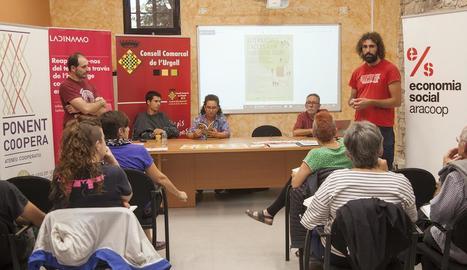 Imatge de la jornada que es va celebrar ahir al consell de l'Urgell.
