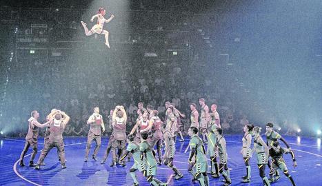 Una de les imatges de l'espectacle que va distribuir ahir la companyia.