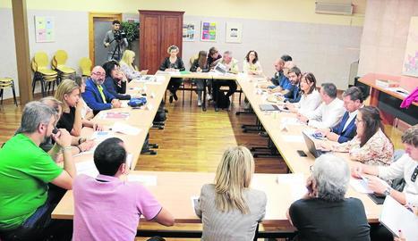 La reunió es va dur a terme a la Sala Paulo Freire.
