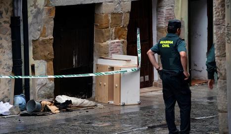 Imatge de l'habitatge on va tenir lloc l'incendi.