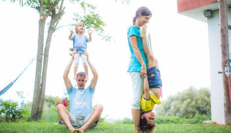 Ioga en família