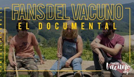 Promoció - Imatge promocional de la sèrie documental Fans del vacuno impulsada per l'associació Provacuno i difosa a través de la seua pàgina web per atansar la realitat del sector ramader al gran públic.