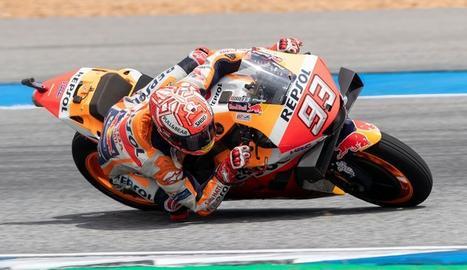 Marc Márquez, aquest diumenge al GP de Tailàndia.