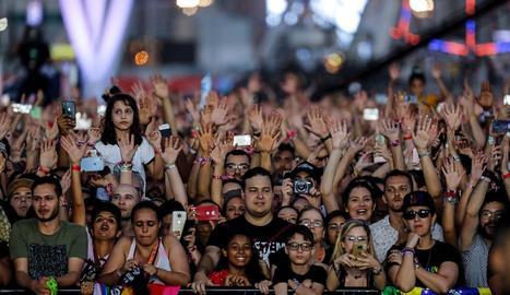 Pink i la brasilera Anitta arrasen al Rock in Rio