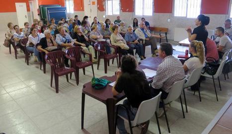 L'assemblea veïnal va tenir lloc al Casinet de Llívia.