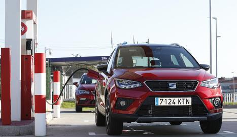 Els models híbrids de gas natural comprimit i gasolina de SEAT són l'alternativa més econòmica i ecològica del mercat.