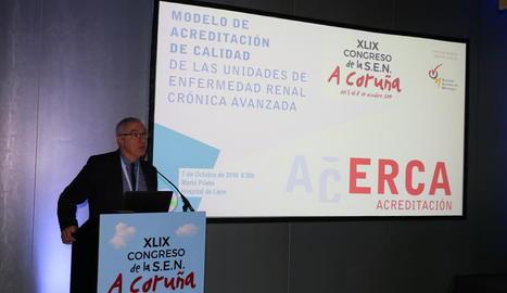 Congrés de la Societat Espanyola de Nefrologia, a la Corunya.